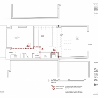 Proposed GF Plan - Fire strategy - extension planning application