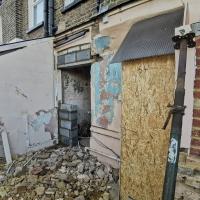 Lean-to demolition