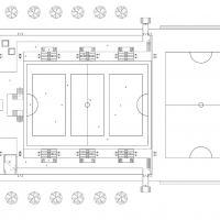 Training Centre - First floor plan