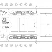Training Centre - Ground floor plan